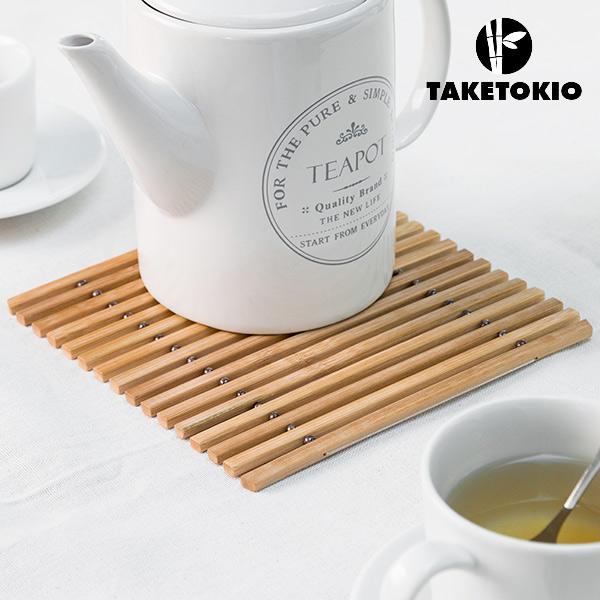 Ohebná Bambusová Podložka pod Hrnec TakeTokio