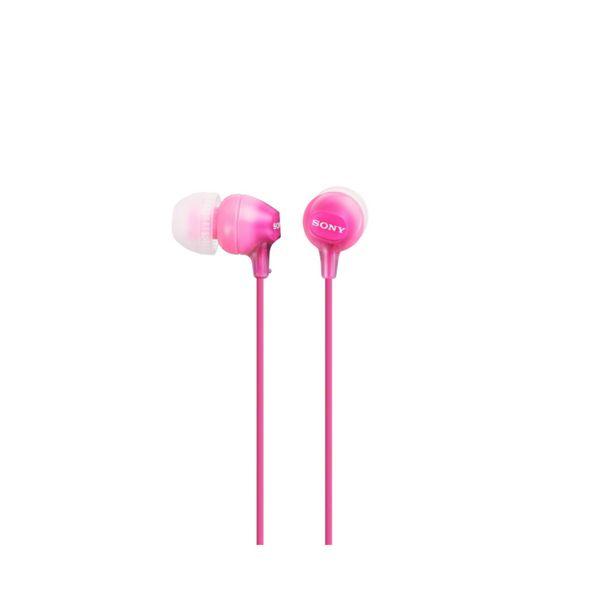 Słuchawki Sony MDR EX15LP in-ear Różowy