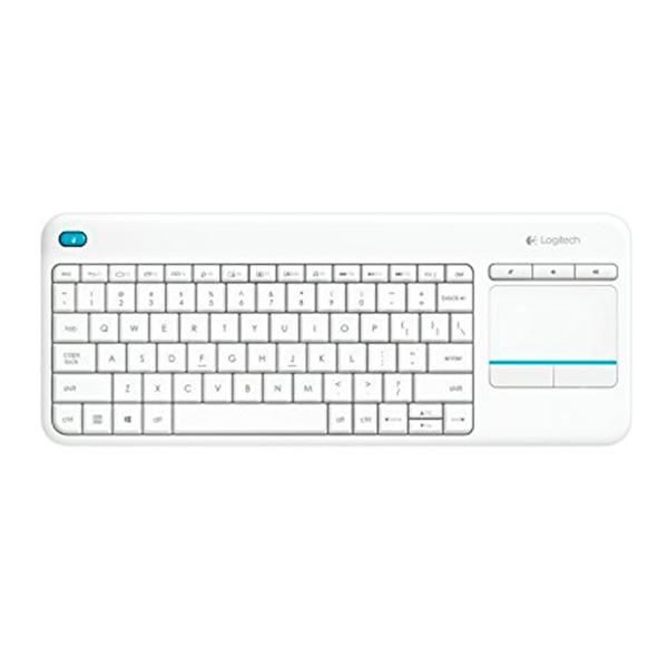 Bezdrátová klávesnice Logitech 920-007138 Windows Android Smart TV QWERTY Bílý