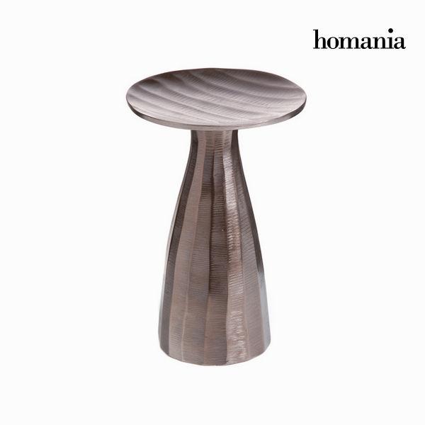 Świecznik Aluminium (26 x 16 x 16 cm) - New York Kolekcja by Homania