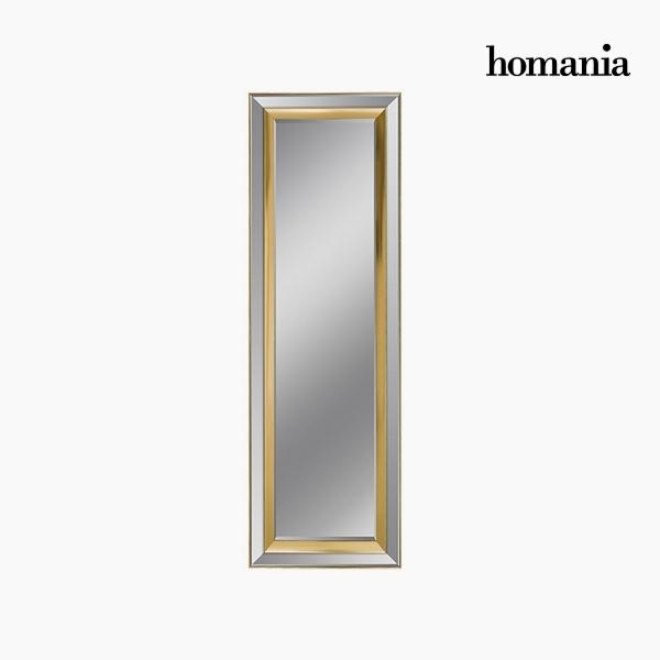 Lustro Żywica syntetyczna Szkło fazowane Srebrzysty Złoty (65 x 3 x 185 cm) by Homania