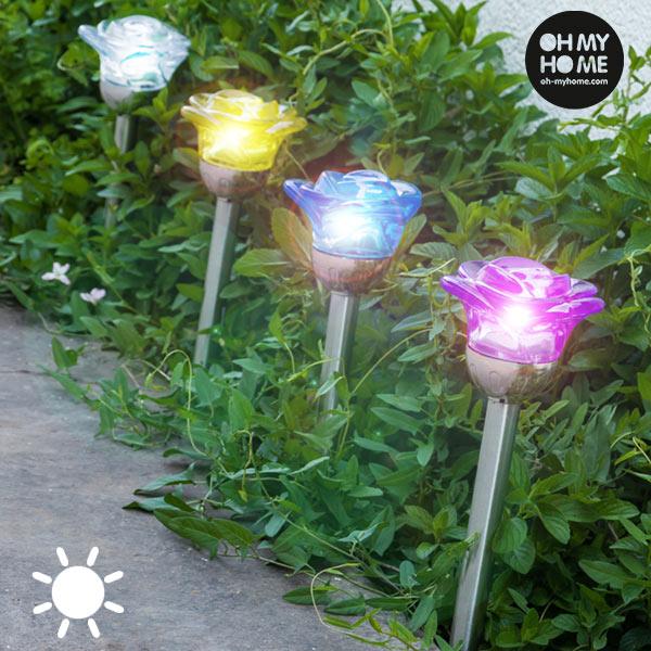 Lampa na Baterie Słoneczne Kwiat Oh My Home