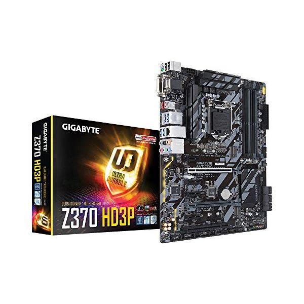 Základní herní deska Gigabyte Z370 HD3P GA-Z370 HD3P DDR4-SDRAM DIMM 2133,4000 MHz