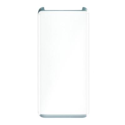 Ochraniacz na Ekran z Hartowanego Szkła Zakrzywiony Ref. 100953 Samsung S8 Plus Srebrzysty