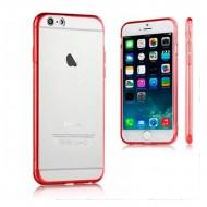 Torba iPhone 6 Plus Ref. 110068 TPU Crystal Czerwony
