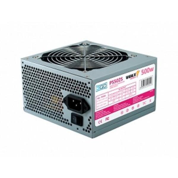 Nápajecí Zdroj 3GO PS502S ATX 500W Ocel