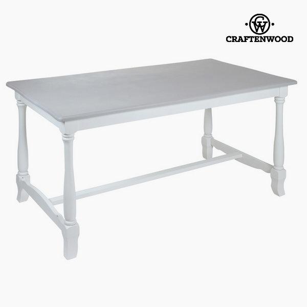 Bílý jídelní stůl altea by Craftenwood