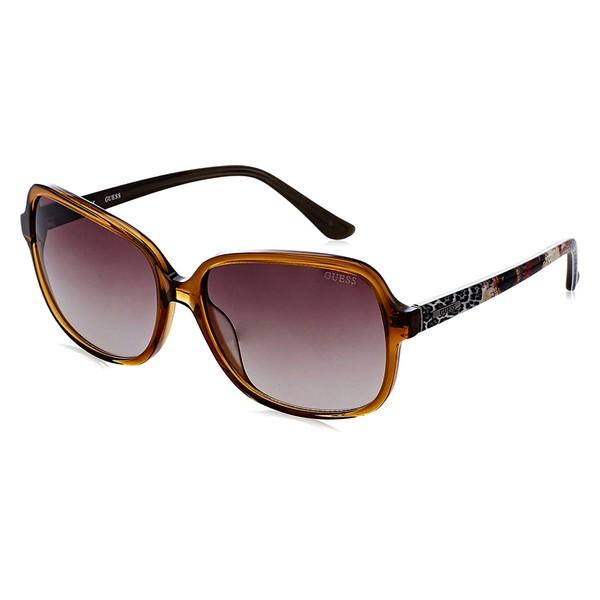 Okulary przeciwsłoneczne Damskie Guess GU7382-45F