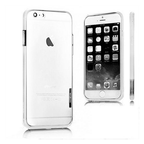 Dwukolorowy Zderzak Iphone 6 Plus X-ONE 110037 Biały