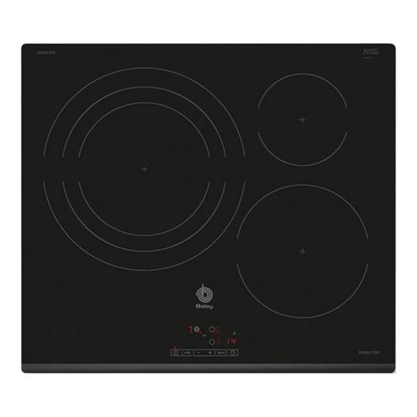Indukční Plotýnka Balay 219357 7400W 60 cm Černý