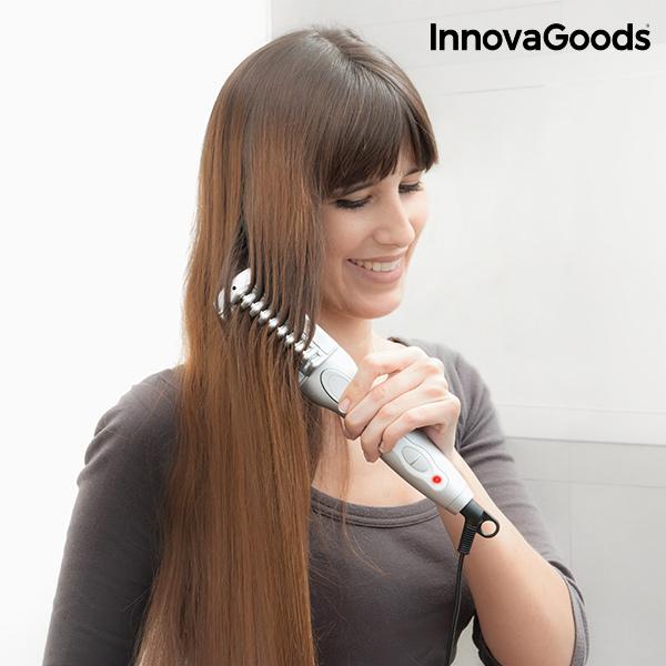 Žehlicí Kartáč na Vlasy InnovaGoods 25 W