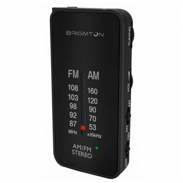 Přenosné rádio BRIGMTON BT224 Černý