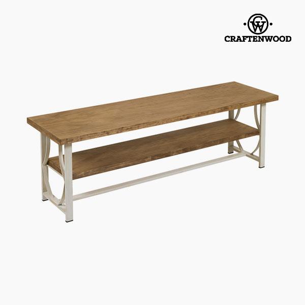 TV stolek Dřevo / kování Béžový - Serious Line Kolekce by Craftenwood