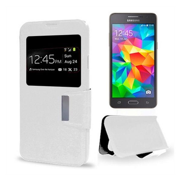 Pouzdro Samsung Grand Prime Ref. 125925 PU Bílý