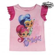 Koszulka z krótkim rękawem dla dzieci Shimmer and Shine 6541 (rozmiar 4 lat)