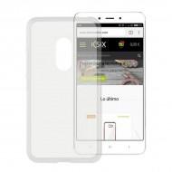 Puzdro na mobil Xiaomi Redmi 4a Flex TPU Transparentná
