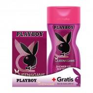 Souprava sdámským parfémem Queen Of The Game Playboy (2 pcs)