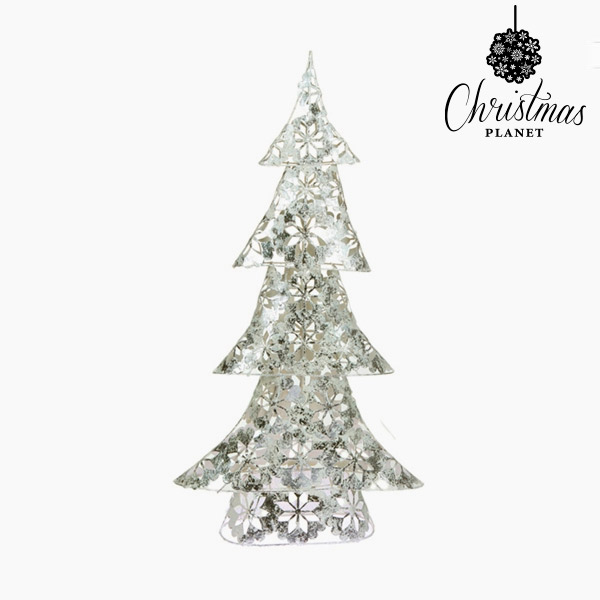 Vánoční stromeček Železo Stříbřitý (30 x 12 x 60 cm) by Christmas Planet