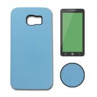 Torba Samsung S6 Edge Plus Ref. Leather 123358 Celeste