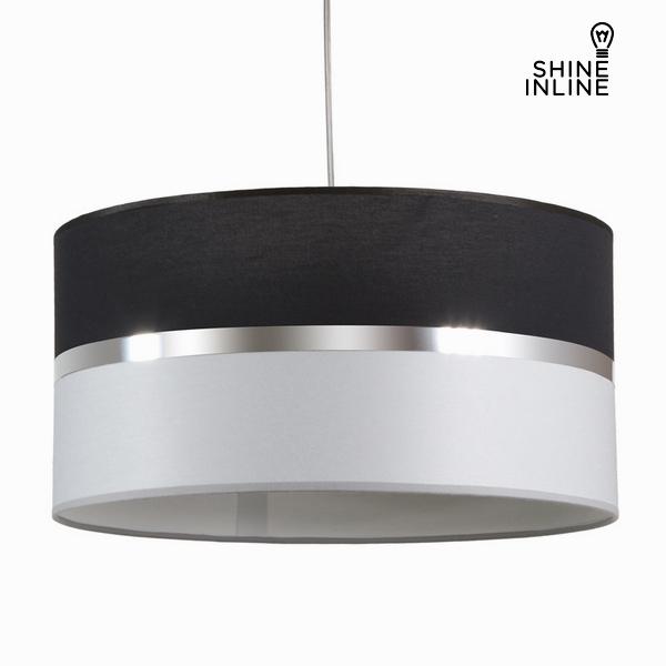 Černá a šedá závěsná lampa by Shine Inline