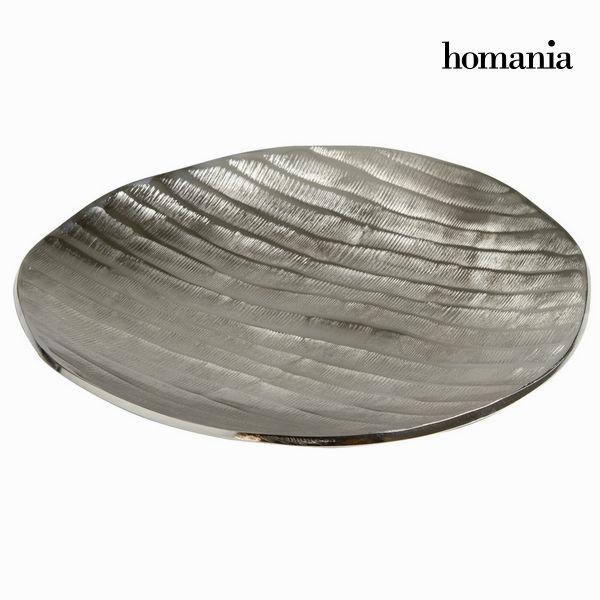 Dekoracja na Stół Aluminium (37 x 37 x 4 cm) - New York Kolekcja by Homania