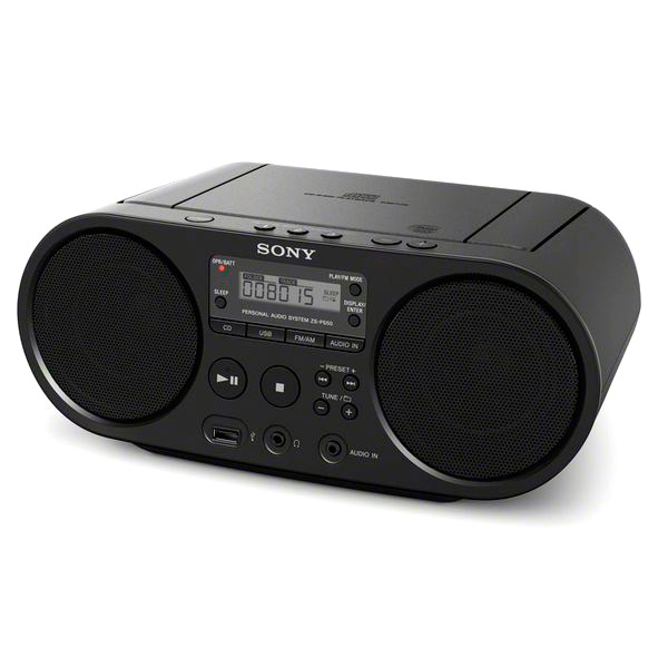 Rádio s CD Sony ZS-PS50 Černý