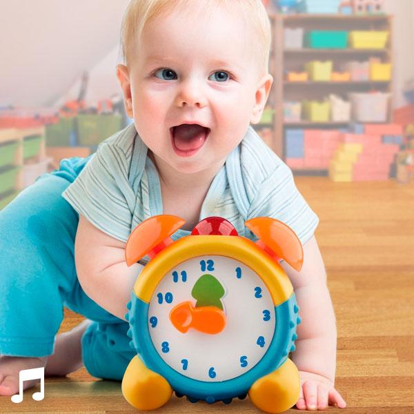 Zegar dla Dzieci ze Światłem i Dźwiękiem
