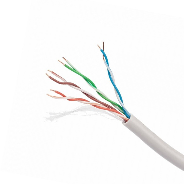 Kabel RJ45 Kategoria 5 FTP Sztywny iggual PSIUPC-5004E-S 100 m Kolor Szary