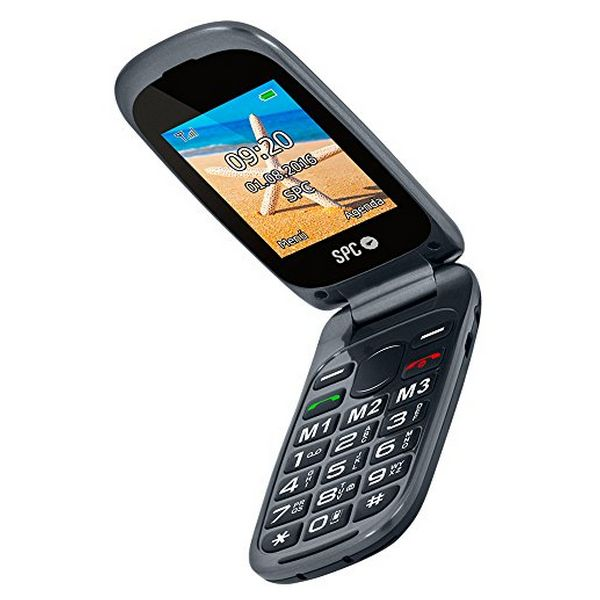 Mobilní Telefon SPC Harmony 2304N Bluetooth FM Černý