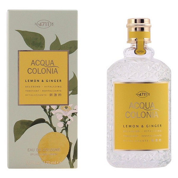 Perfumy Damskie Acqua 4711 EDC Lemon & Ginger - 170 ml