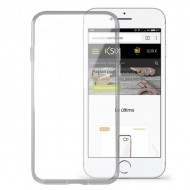 Pouzdro na mobily Iphone 8 Flex Ultrafina Transparentní