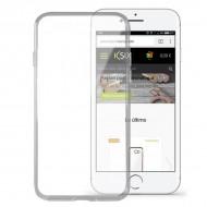 Puzdro na mobil Iphone 8 Flex Ultrafina Transparentná