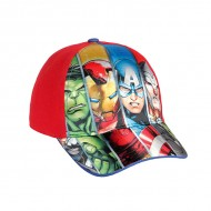Dětská Kšiltovka Avengers - Červený