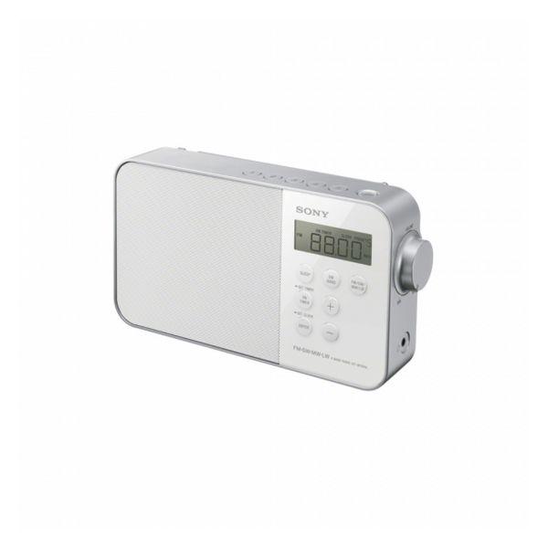 Rádiobudík Sony ICF-M 780 LED FM Bílý