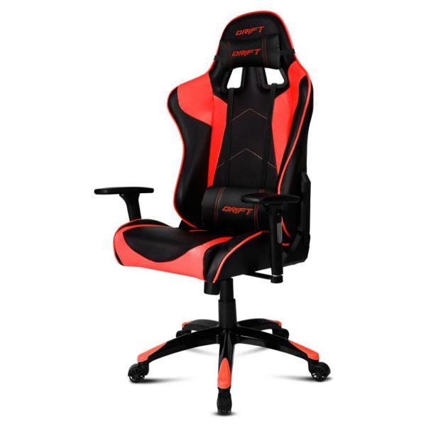 Fotel dla Graczy DRIFT DR300BR 90-160º Piana Czarny Czerwony