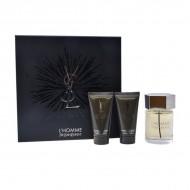 Zestaw Perfum dla Mężczyzn Ysl L'homme Yves Saint Laurent (3 pcs)