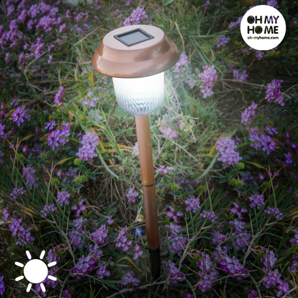 Lampa na Baterie Słoneczne Copper Garden Oh My Home