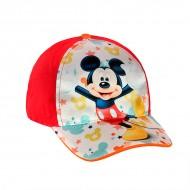 Dětská Kšiltovka Mickey Mouse - Červený