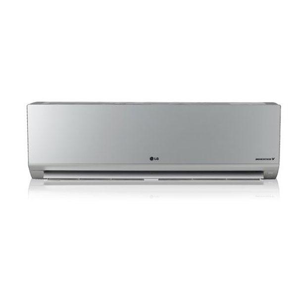 Klimatizace LG CA09AWV Split Inverter A+ / A+ 65 dB 2630 fg/h Studený + teplý Stříbřitý