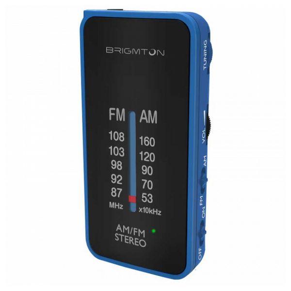 Přenosné rádio BRIGMTON BT224 Modrý