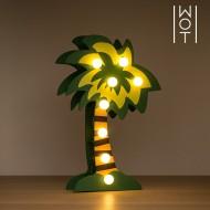 Drewniana Palma Dekoracyjna Wagon Trend (8 LED)