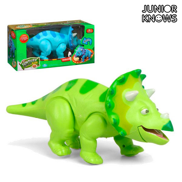 figurka superbohatera Triceratops Junior Knows 79200