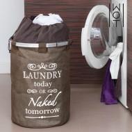 Retro Pytel na Špinavé Prádlo Dark Wagon Trend