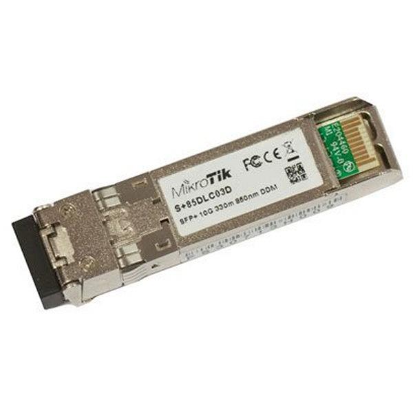 Moduł optyczny SFP+ MonoModo Mikrotik S+85DLC03D 300 m
