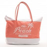 Plážová Taška Enjoy Summer - Oranžový
