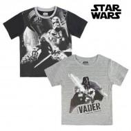 Koszulka z krótkim rękawem dla dzieci Star Wars 1514 Czarny (rozmiar 4 lat)