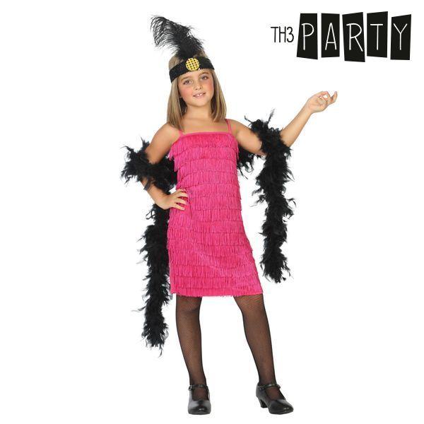 Kostium dla Dzieci Th3 Party Charleston Różowy - 5-6 lat