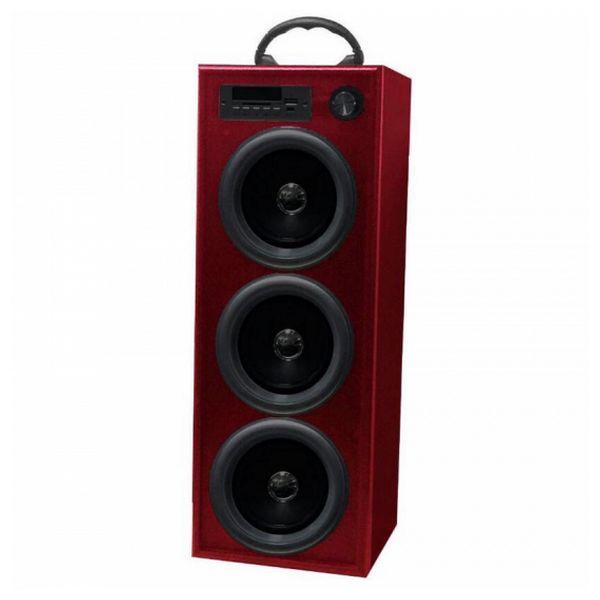 Věžový reproduktor Innova TW/BK5R Radio FM Bluetooth 30W Červený
