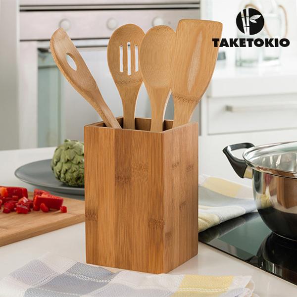 Sprzęt kuchenny bamboo (5 sztuk)