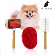 Zestaw Szczotek dla Psów Collection Pet Prior (3 szt)